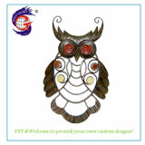 Cheap Hand Painted Metal Wall Art Owl Wall Hanging Home Decoration