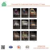 Wooden Kitchen Dining Chair with Armrest
