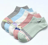Candy Color Lovely Patten OEM Wholesale Ankle Sock