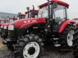 Big 110-120HP Tractor with Loader and Excavator for Sale