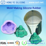 Tin Cured RTV Silicone Rubber for Resin Products Making