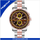 Latest Stylish Waterproof Charm Chronograph Stainless Steel Quartz Watch