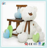 Huge Size Huggable White Soft Bear Plush Sitting Bear Toy for Kids