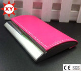 Pink Color PU Name Card Holder (XTY-mxl91801)