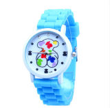 The Bear Children′s Lovely Silicone Quartz Watch