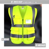 Wholesale Reflective Safety Vest with Pockets