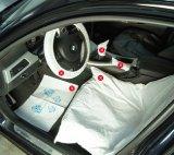 Disposable Waterproof PE Car Seat Protector Cover