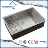 32 Inch Upc Single Bowl Undermount Stainless Steel Handmade Kitchen Sink (ACS3218A1)