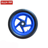 12 Inch Rear Wheelchair PU Foam Rubber Wheel