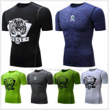 Cool Quick Dry Brethable Fit Sport Running T-Shirt for Men