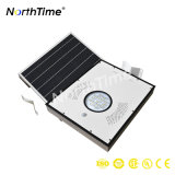 15W Solar Powered All-in-One Solar Street Light with Lithium Battery