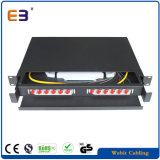 19 Inch Network Rack Mountable 12 Port FC Simplex Single Mode Fiber Patch Panel