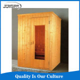 Europe Luxury Finland Wood Dry Sauna Room for 2 Person
