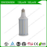 50W 6kv Surge Protection 160lm/W 150W/175W HID Replacement LED Corn Bulbs for Tunnel Light/Exterior Wall Pack