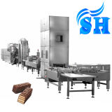 Full Automatic Hollow Wafer Chocolate Biscuit Production Line Price