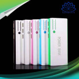 Portable Mobile Phone Charger Travel Rechargeable Battery Charger with LED Light