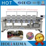 Automaic Brother Type Computer Embroidery Machine T-Shirt Garment Flat Cap Embroidery Machine 6 Head 15 Color