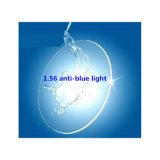 1.56 Resin Index Lens Hmc Transparent Anti Blue Light Non-Ball Plus Hard UV400 Glasses Lens Wholesale