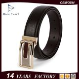 Fashion Genuine Leather Metal Buckle Belts Waist Belt for Men