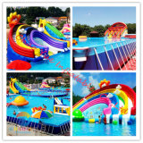 Inflatable Water Slide Park, Water Park, Inflatable Water Game Toy