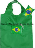 Foldable Flag Shopping Bag, Flag, Reusable, Lightweight, Grocery Bags and Handy, Sports Events, Accessories & Decoration, Promotion