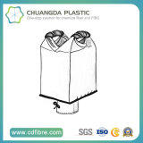 1-2 Loops FIBC PP Woven Ton Bag for Rice Packing