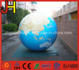 Advertising Helium Balloon Inflatable Earth Globe Balloon for Display