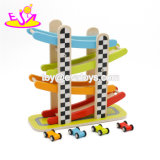 New Hottest Slot Racing Wooden Miniature Speeding Car for Kids W04e059
