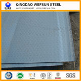 Ss400 Q235 Hot Rolled Tear Drop Checkered Steel Plate