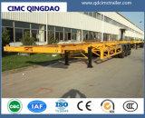 Cimc 2/3 Axle 40/45FT Container Skeleton Skeletal Truck Tractor Semi Trailer