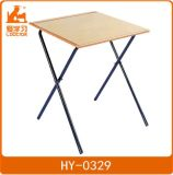 Foldable Student Studying Desk and Exam Table of Classroom Furniture