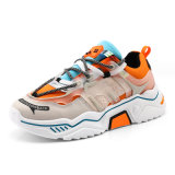 Three Colors PU Man Outdoor Ins Sports Shoes Size 39-44