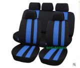 Blue Knitted Fabric Car Seat Covers Replacement Blue Car Cushion