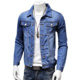 Latest Design Outdoor Custom Satin Bomber Denim Jacket Shirt
