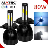 6000k H7 COB LED High Beam Car 80W 8000lm LED Headlight Conversion Kit for Car