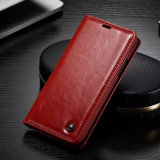 Hang Belt Card Holder Holster Leather Phone Case for Samsung Galaxy Note 8