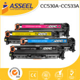 2017 New Compatible Color Toner Cartridge Cc530A Series for HP