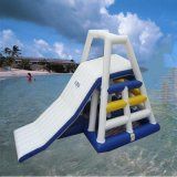 Heat Sealed Inflatable Climbing Water Tower Slide Giant Inflatable Water Tube Toy