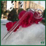 12cm Clear Glass Oil Burner Pipe for Glass Smoking Pipes