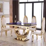 Hot Trends Cheap Furniture for Rent Event Gold Stainless Steel Living Room Chairs
