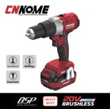Heavy Duty Cordless 20V Brushless Double Speed Impact Drill Big Torque Power Tools
