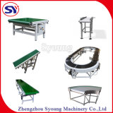 PVC PU Belt Conveyor Food Seafood Transmission Packaging Belt Conveyor with Factory Price