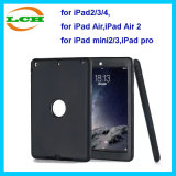Shock-Absorption Three Layer Armor Defender Tablet Case for iPad