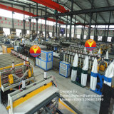 Environmental Furniture Advertising Different Thickness Cutting PVC Board Co-Extrusion Equipment