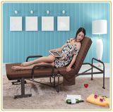 Folding Rollaway Guest Bed with Foam Mattress 190*120cm