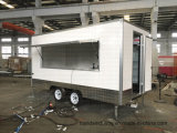 New 2017 Enclosed Food Car Van Package Australia Standard Fiber Glass Mobile Food Trailer