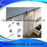 Standard Configuration Stainless Steel Wood Barn Door Hardware