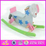 2015 Cheap on Sale Kid Rocking Horse Toy, Elephant Design Wooden Rocking Horse Toy, Children Cartoon Wooden Rocking Horse Wjy-8011