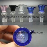 7 Hole Glass Bowl for Glass Water Pipe