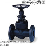 ANSI High Pressure Flanged Carbon Globe Valve with Rising Stem